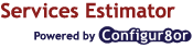 Configur8or Services Estimator logo.
