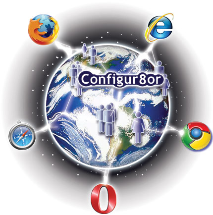 Configur8or supports many technologies including sql server MySql Db2 Access CSV odbc compliant apache linux windows IIS XML SSL Encryption java javascript xsl and css to name but a few.